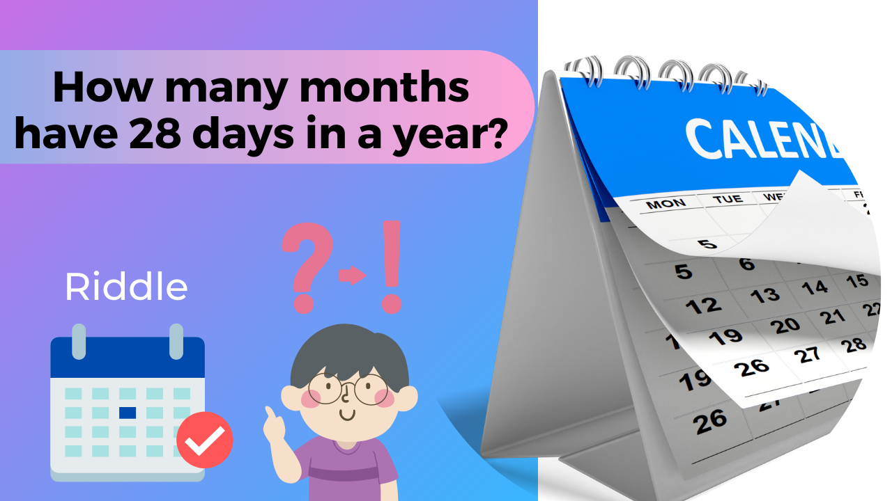 How many months have 28 days in a year